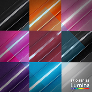 Lumina 3710 Premium Ultra-Metallic Cast Vinyl By FDC Graphic Films