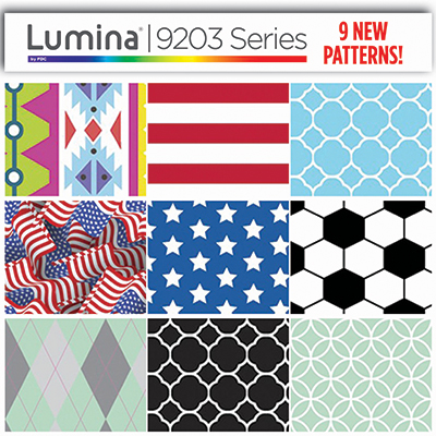 9 New Patterns Added to Lumina® 9203 Series