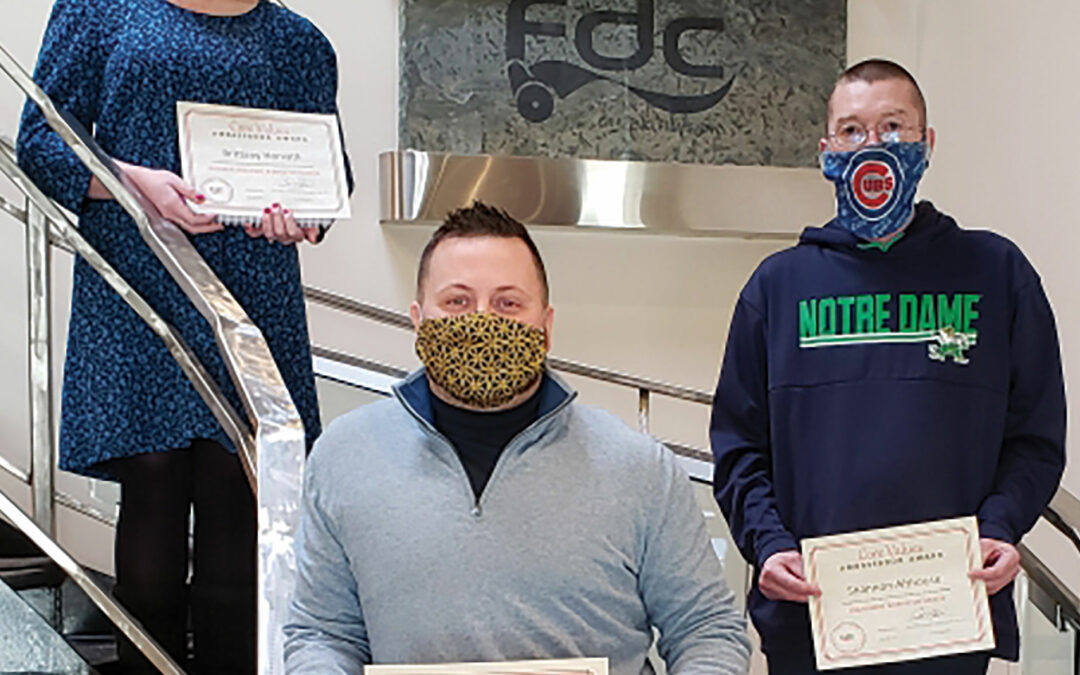 FDC Recognizes Employees for Exemplifying Company's Core Values